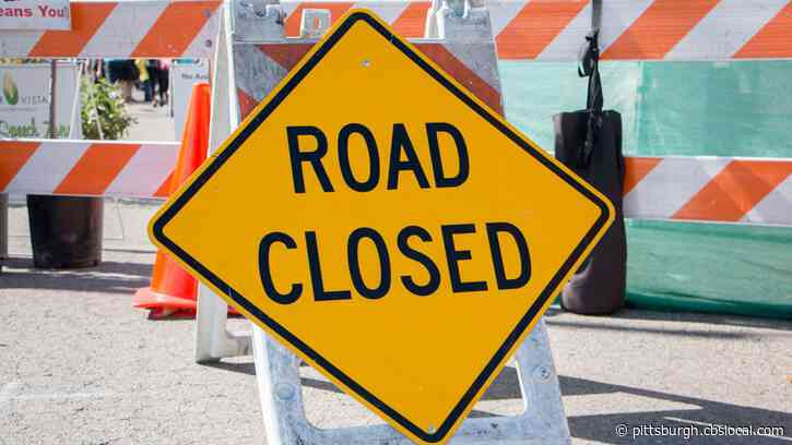 Patton Street In Monroeville To Close December 3 To Repair Sinking Portion Of Road