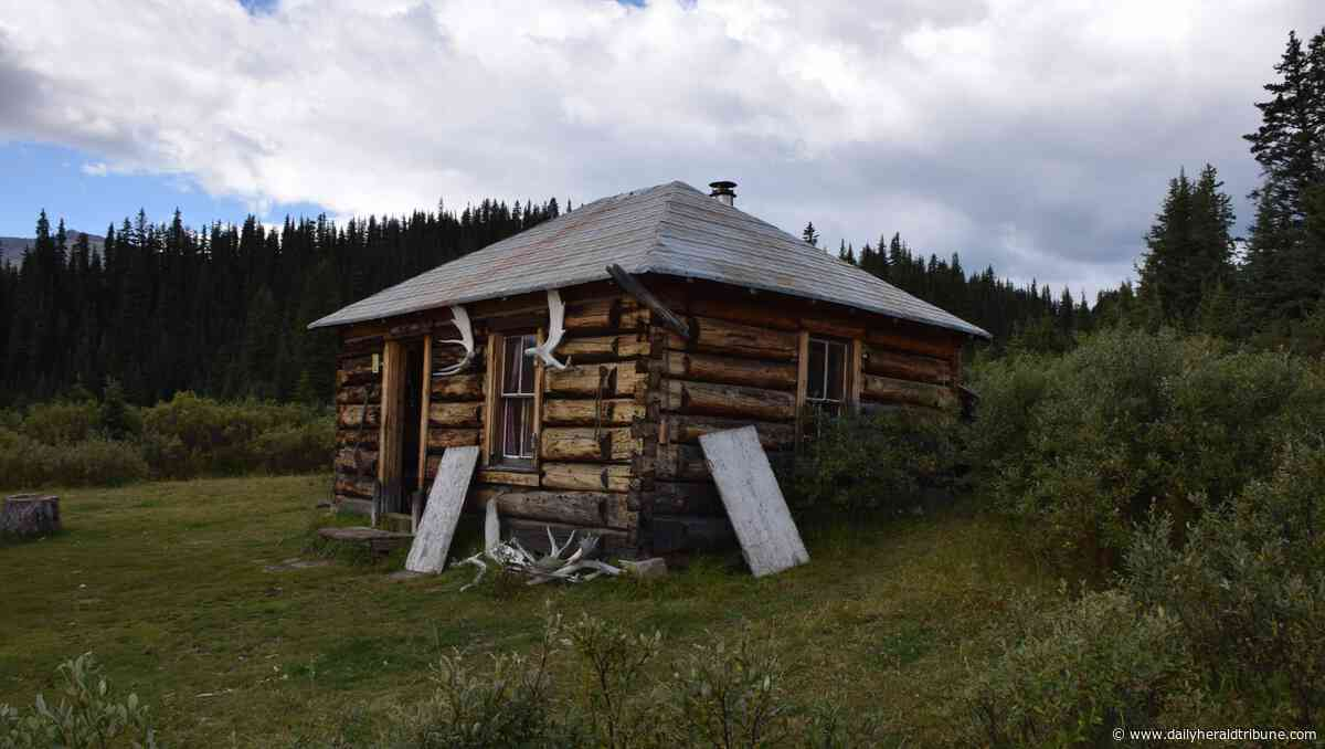 Forestry cabin designated as historic resource southeast of Grande Cache