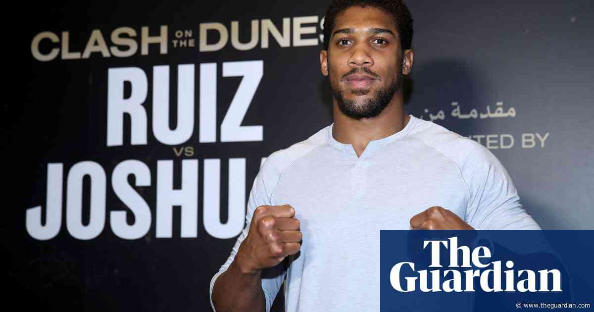 Anthony Joshua adopts 'prison mindset' for Andy Ruiz Jr world-title rematch