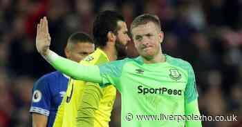 Jordan Pickford sets sights on Anfield redemption as Everton target result for the fans