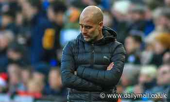 Manchester City boss Pep Guardiola wary Burnley front two will put Fernandinho in focus