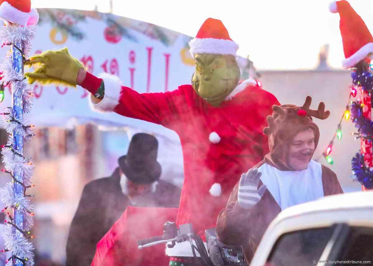 Photos: Herald of the Holidays, city displays Christmas parade and tree lighting