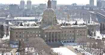 Question period postponed after man shoots himself on steps of Alberta Legislature
