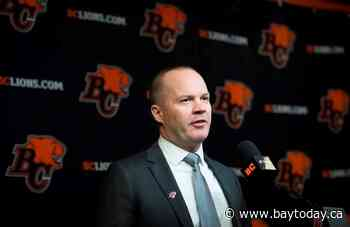 Campbell tasked with turning around another CFL franchise as head coach of Lions
