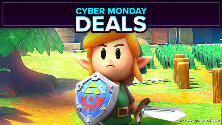 Cyber Monday Nintendo Switch Deals Get The Legend Of Zelda