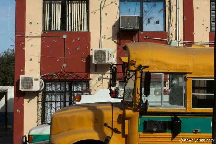 Mexico hunts cartel gunmen after deadly firefight kills 22