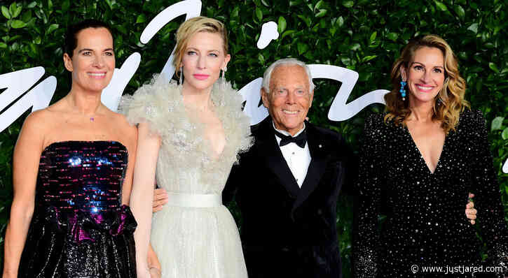 Julia Roberts & Cate Blanchett Join the Armanis at Fashion Awards 2019!