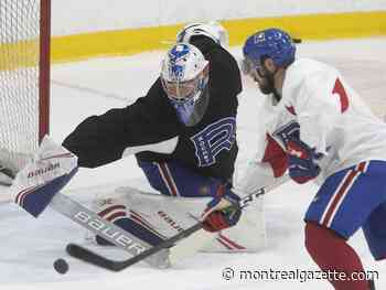 Canadiens seek a spark with promotions of goalie Primeau, forward Peca