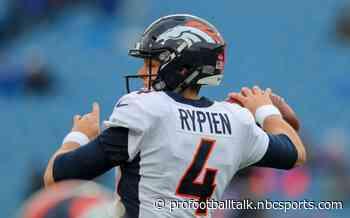 Broncos sign Brett Rypien to practice squad