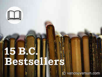 B.C.: 15 bestselling books for the week of Nov. 30