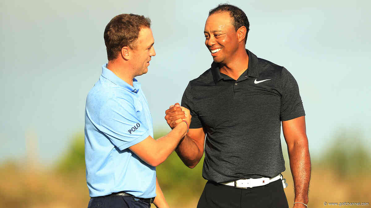 Woods paired with Thomas for first round at Hero