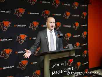 Ed Willes: B.C. Lions turn to the safest pair of hands they can find