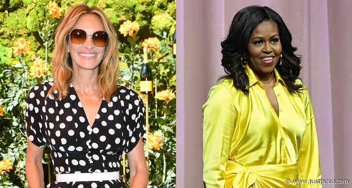 Julia Roberts & Michelle Obama Are Taking a Trip Together