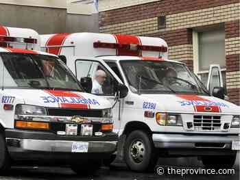 Letters to The Province, Dec. 3, 2019: Why do paramedics work part-time? So glad you asked