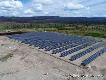 Fortune beams on Tsilhqot'in solar-power project on remote Chilcotin plateau
