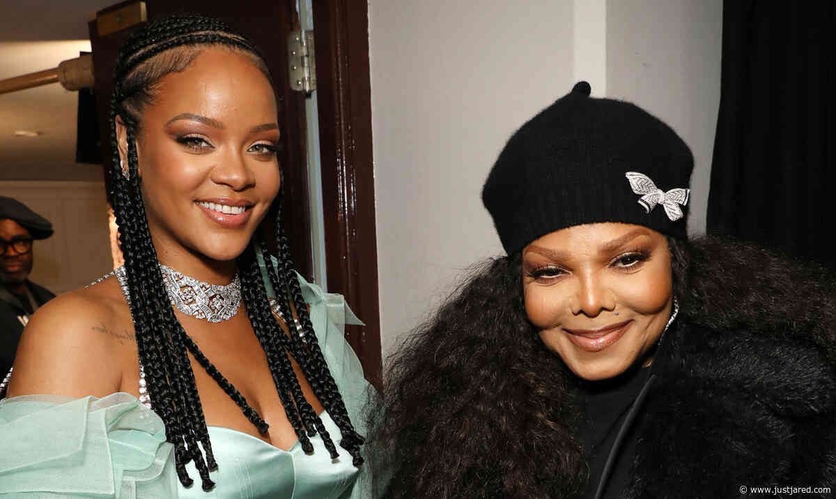 Janet Jackson Makes Surprise Appearance at Fashion Awards to Present to Rihanna!