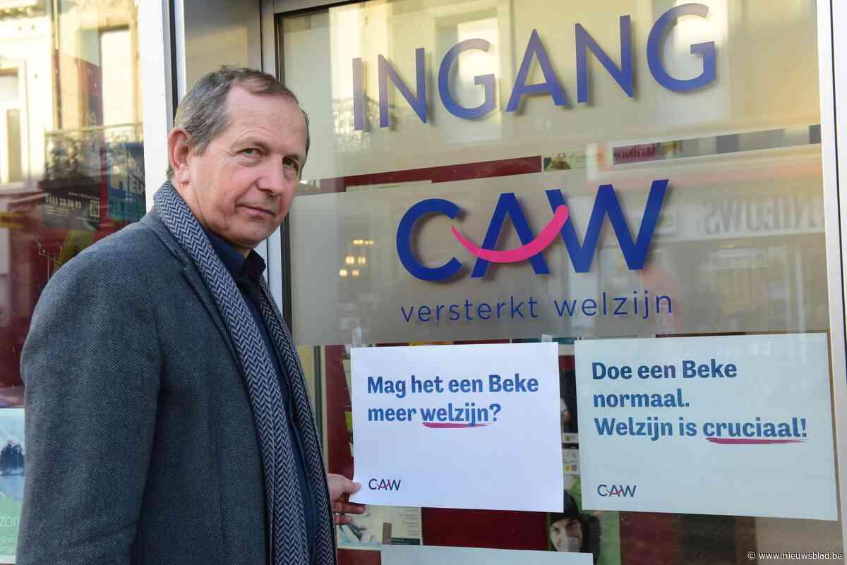 Medewerkers CAW De Kempen betogen in Brussel tegen besparingen op welzijn