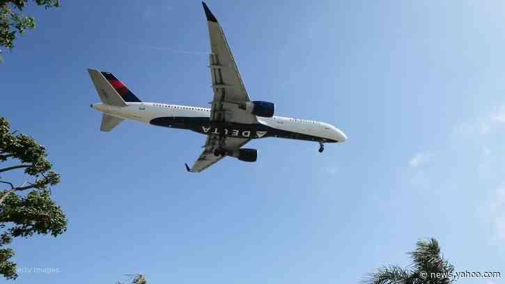 Evacuation slide accidentally falls from plane into Boston backyard