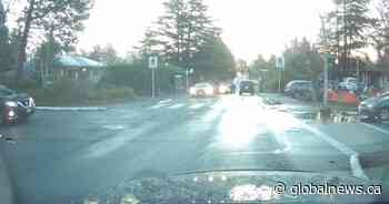 Video shows vehicle speeding before crash that left Saanich 11-year-old with brain damage