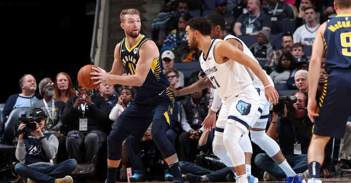 Short-Handed Memphis Grizzlies Fight, but Fall Short to Scorching Hot Indiana Pacers