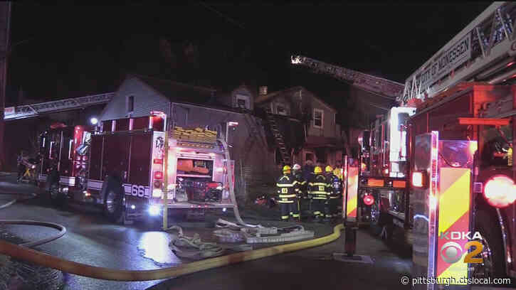 Firefighter Injured While Battling House Fire In Donora