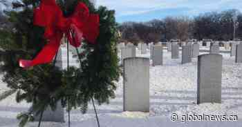 Wreaths laid for Transcona veterans ahead of holidays