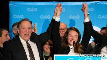 CAQ wins Jean-Talon riding in Quebec City byelection