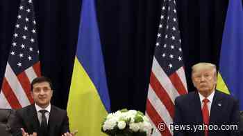 Ukraine president rejects Trump defense for withholding aid