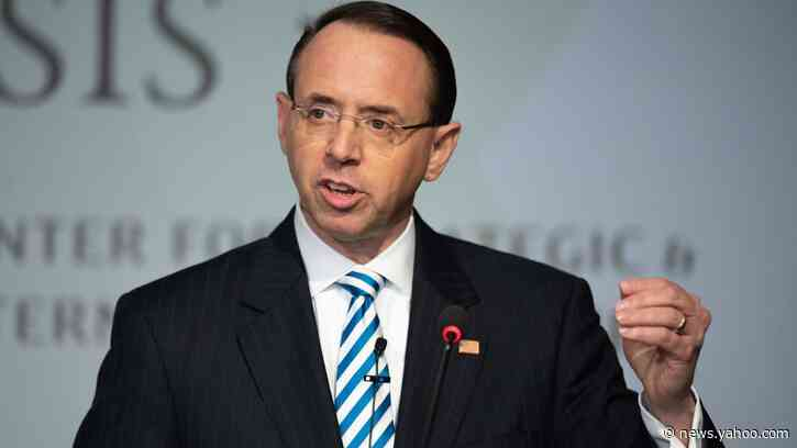 Rod Rosenstein: DOJ 'Not to Blame' for Lisa Page's Abuse