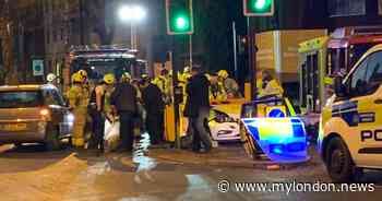 24 hours of bloodshed in London sees 2 stabbings and serious crashes that leave 2 fighting for life