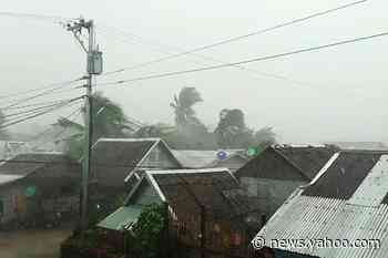 Evacuations, airport closure as Typhoon Kammuri hits Philippines
