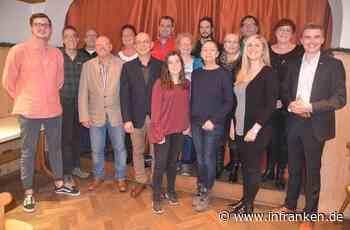 Die Stadtratsliste der SPD Baiersdorf steht