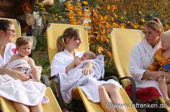 Mit Baby in die Sauna: Königsbad Forchheim bietet ungewöhnlichen Kurs an