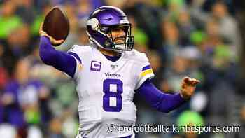 Kirk Cousins: Disappointing to miss this opportunity