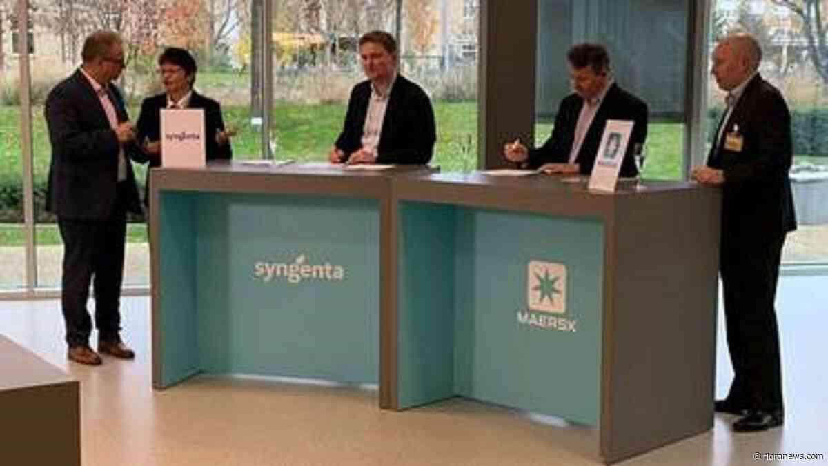Maersk en Syngenta breiden samenwerking uit in nieuw 4PL-contract
