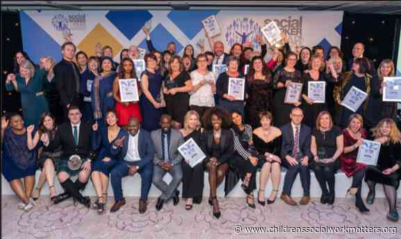 Social Workers honoured at national awards ceremony