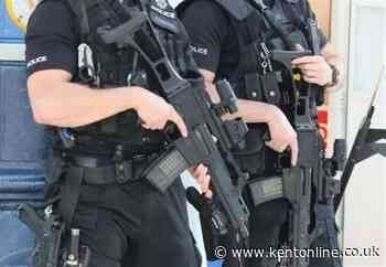 Gun seized as elite police unit swoops