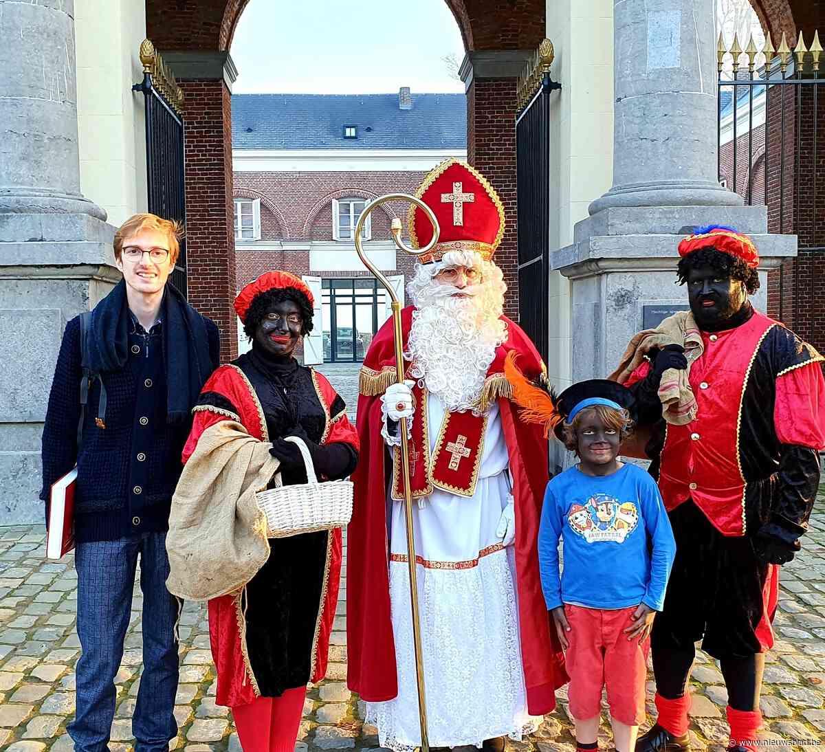 Sinterklaas op huisbezoek in Herne