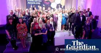 Guardian Public Service Awards celebrate best projects and staff - video