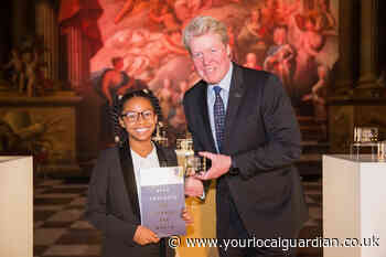 Wimbledon girl proves an 'exceptional young changemaker' winning award in memory of Princess Diana