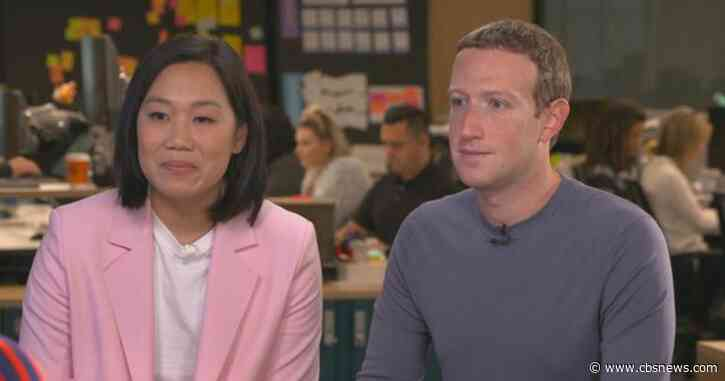 Mark Zuckerberg and Priscilla Chan on the Chan Zuckerberg Initiative, breaking up Facebook