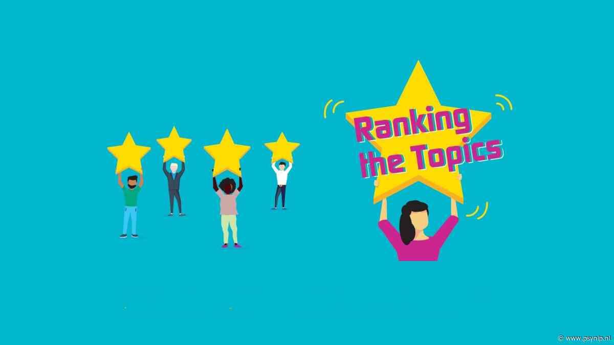 Ranking the Topics RVS: de resultaten