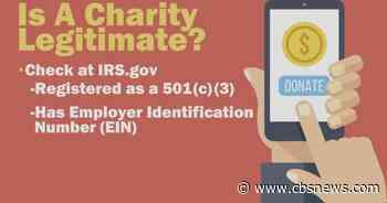 Giving Tuesday: How to find legitimate charities and avoid scams