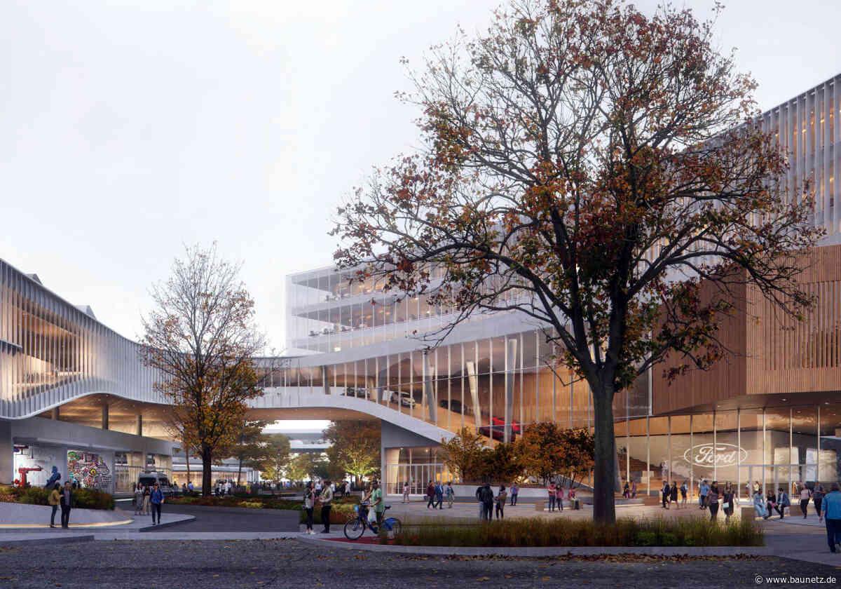 Autos, Bäume, Blumen  - Snøhetta planen Ford-Campus in Dearborn
