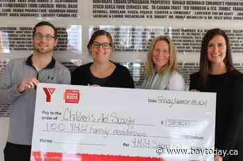 YMCA sponsors 100 family memberships for the Children's Aid Society