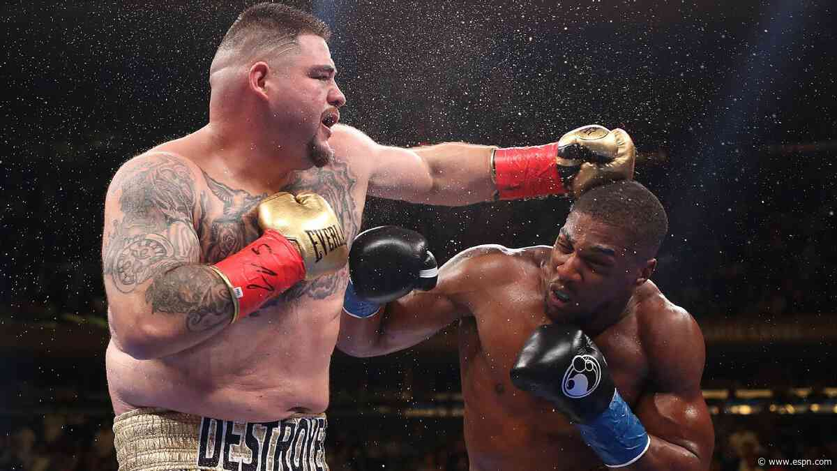 There's more at stake in Ruiz-Joshua 2 than three world titles