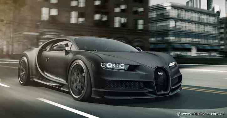2020 Bugatti Chiron Noire: Limited-run hypercars revealed