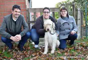 """Blindengeleidehond Angel gezond en wel terug: """"Hij sprong een gat in de lucht toen hij me zag"""""""