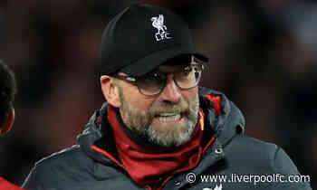 'This is the standout game for both teams' – Klopp on Merseyside derby