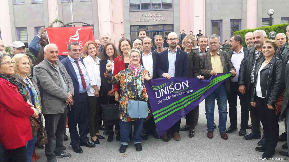 Trade unionists on trial in Turkey